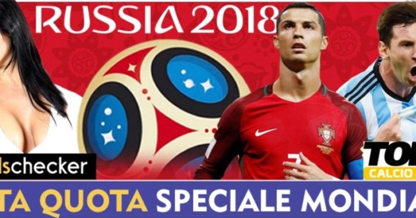 Quote e pronostici in diretta TV per i Mondiali - Oddschecker