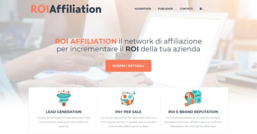 ROIAffiliation: Network Affiliazione