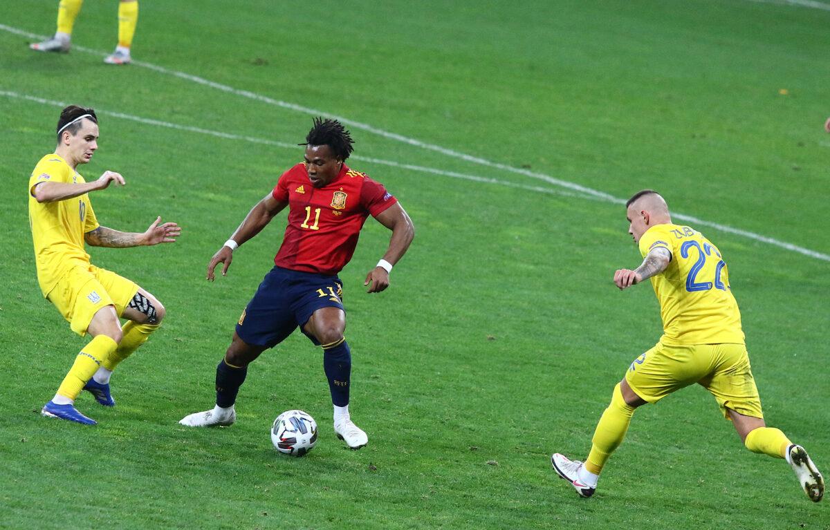 Adama Traore, attaccante Spagna