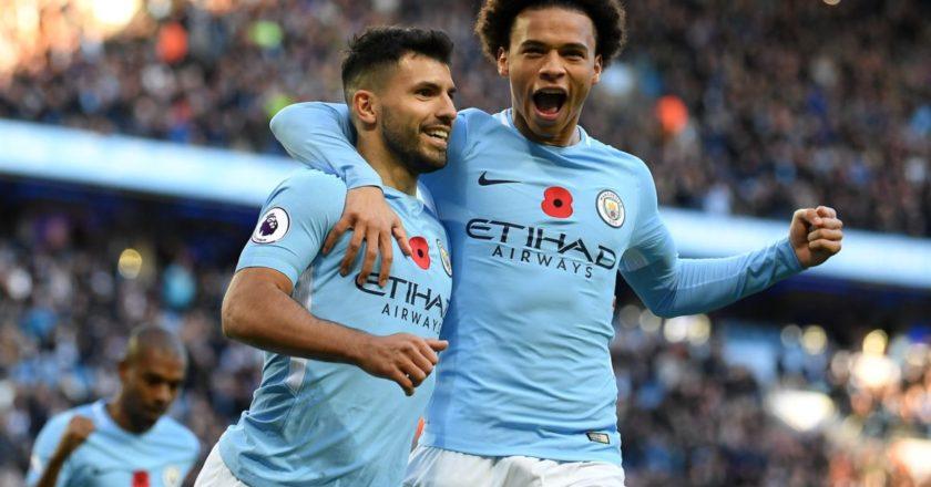 Manchester City: Sergio Agüero, Leroy Sané