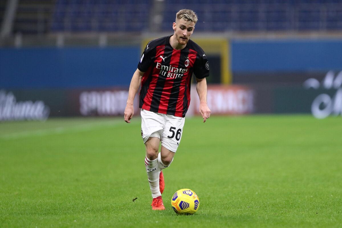 Alexis Saelemaekers, centrocampista Milan