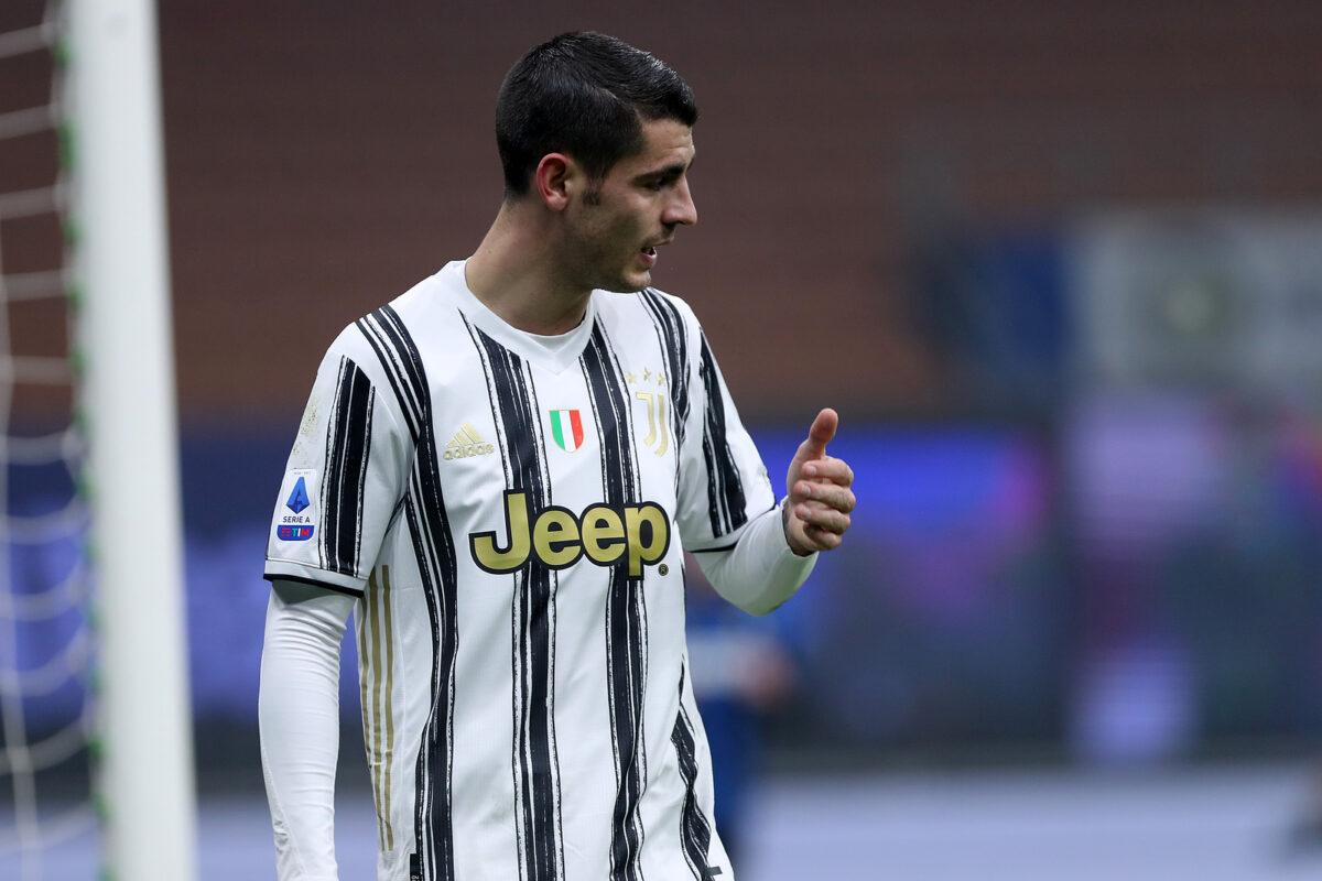Alvaro Morata, attaccante Juventus