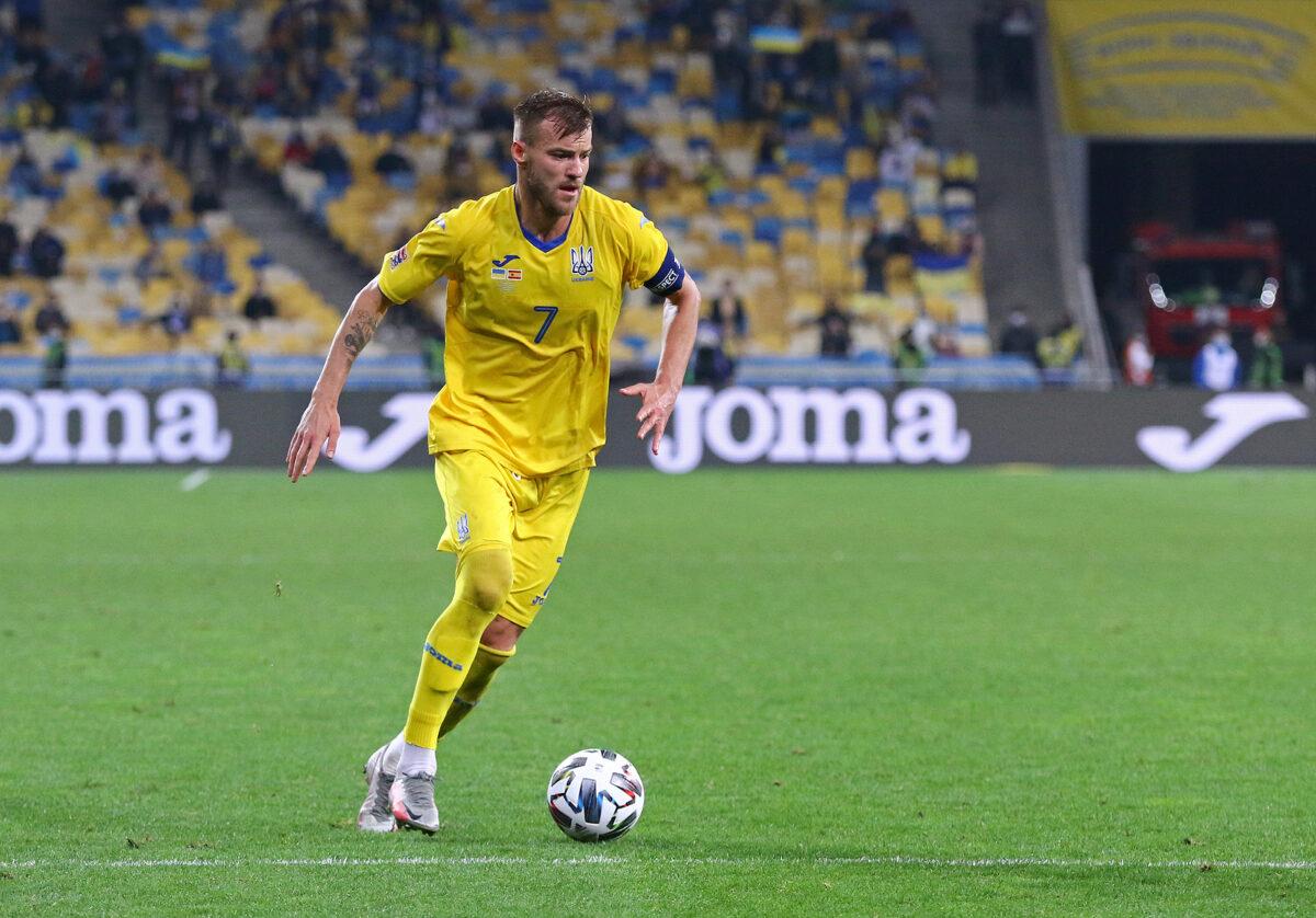 Andriy Yarmolenko, attaccante Ucraina