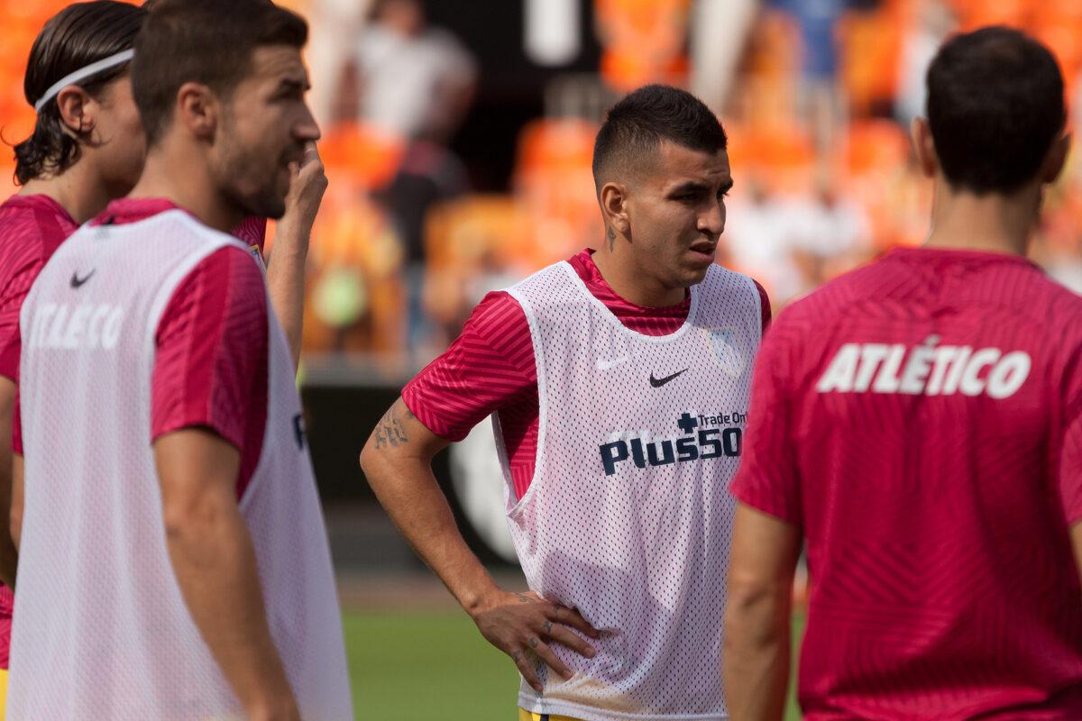 Angel Correa, attaccante Atletico Madrid