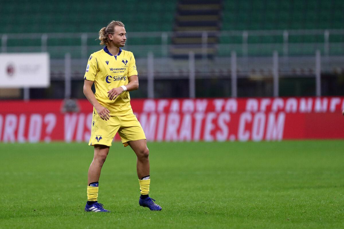 Antonin Barak, centrocampista Hellas Verona