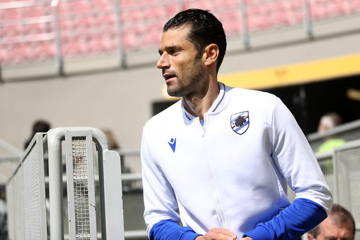 Antonio Candreva, centrocampista Sampdoria