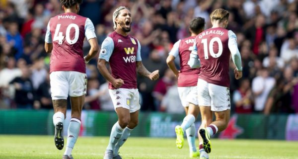 Esultanza Aston Villa, Premier League