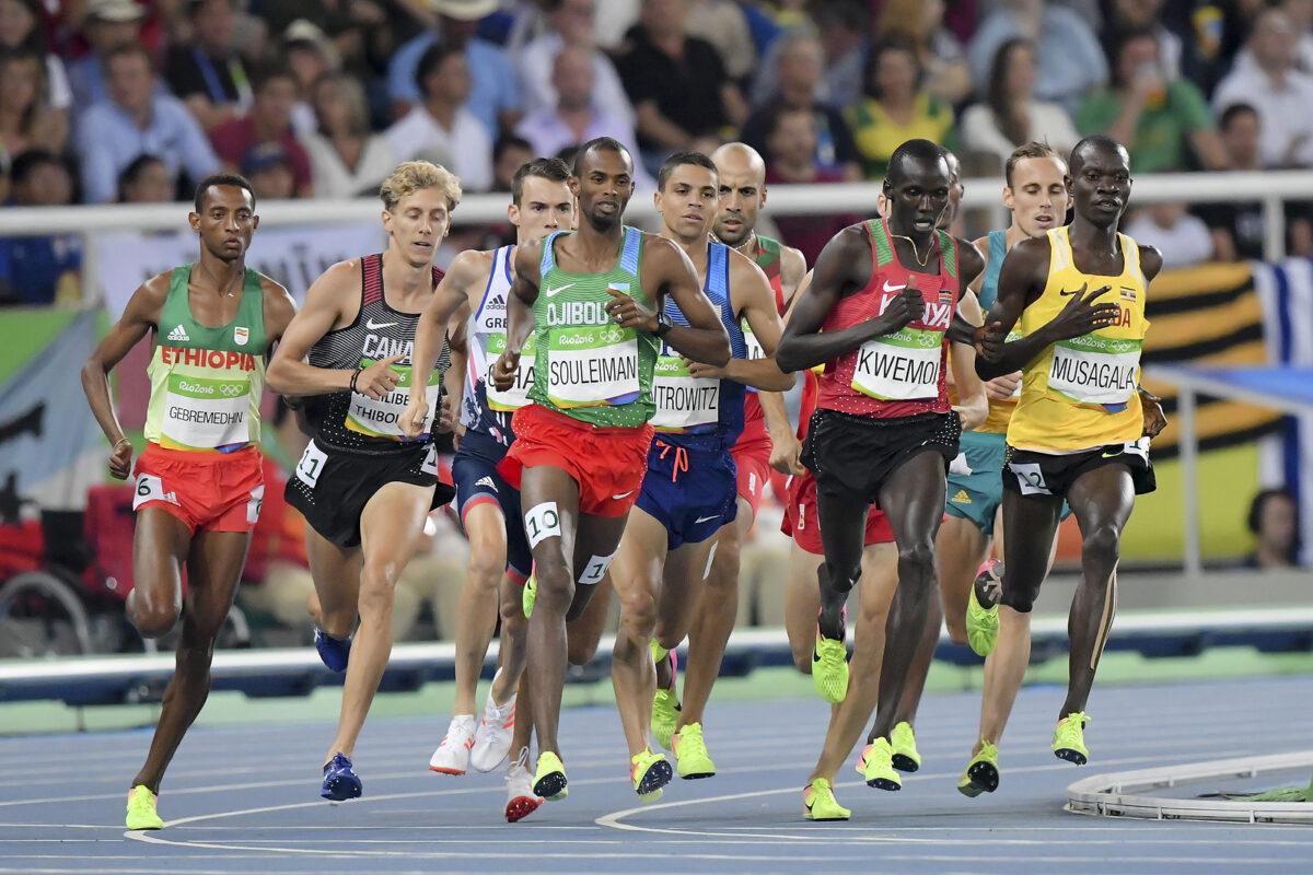 Atletica Leggera maschile - gara 1500 metri