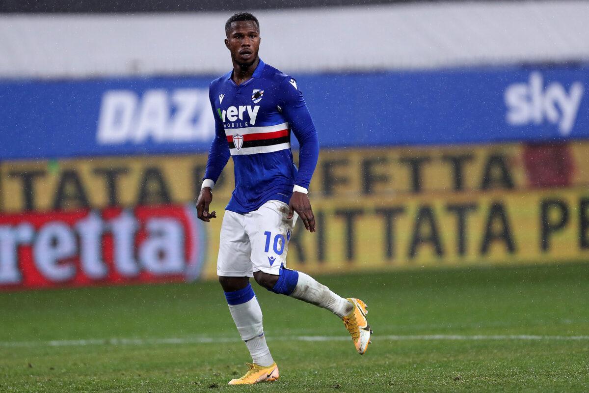 Balde Keita, attaccante Sampdoria