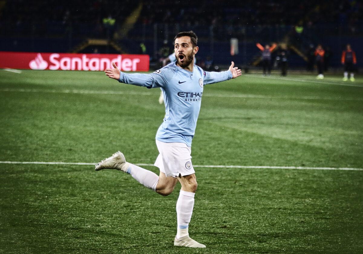 Bernardo Silva, trequartista Manchester City