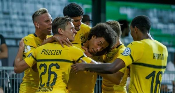 Esultanza Borussia Dortmund