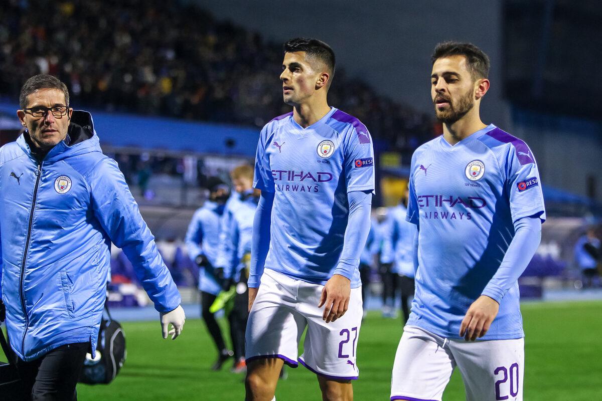 Cancelo e Bernardo Silva, Manchester City