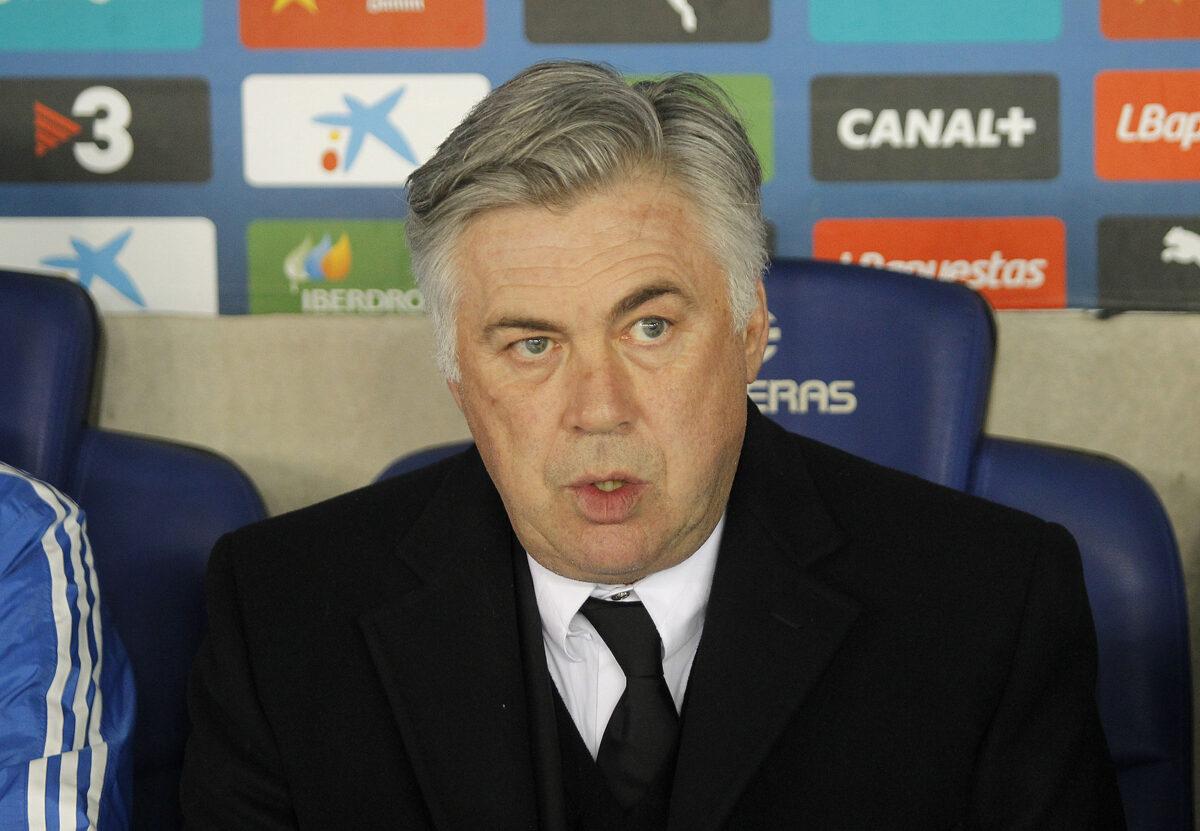 Carlo Ancelotti, allenatore Everton