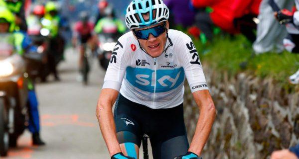 Chris Froome, Giro d'Italia 2018