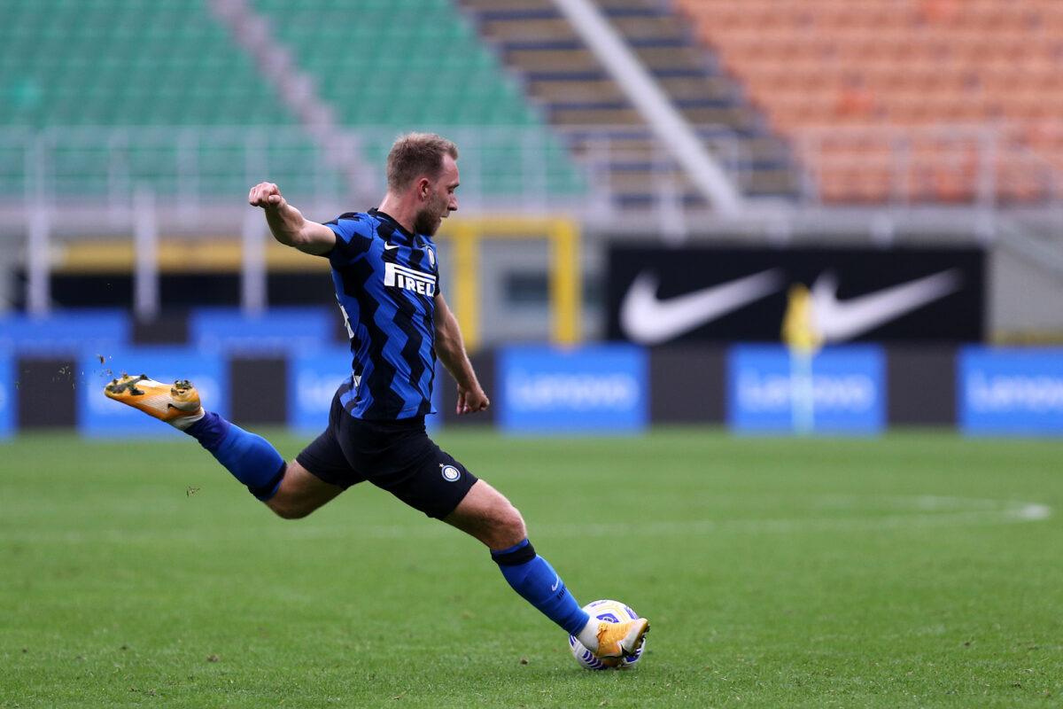 Christian Eriksen, centrocampista Inter