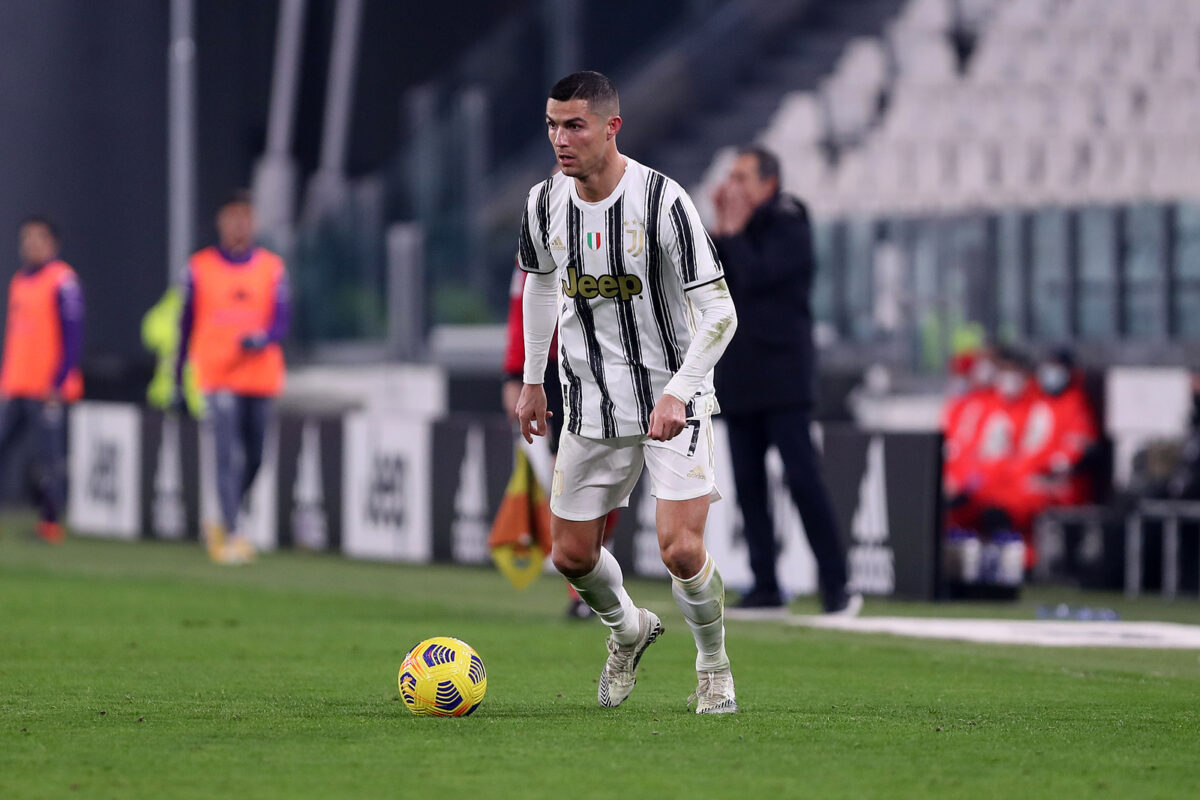 Cristiano Ronaldo, attaccante Juventus