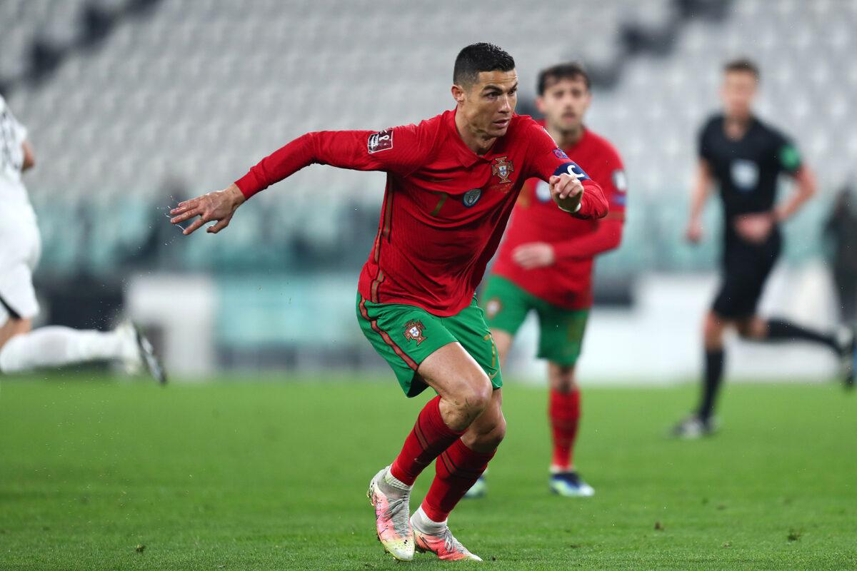 Cristiano Ronaldo, attaccante Portogallo