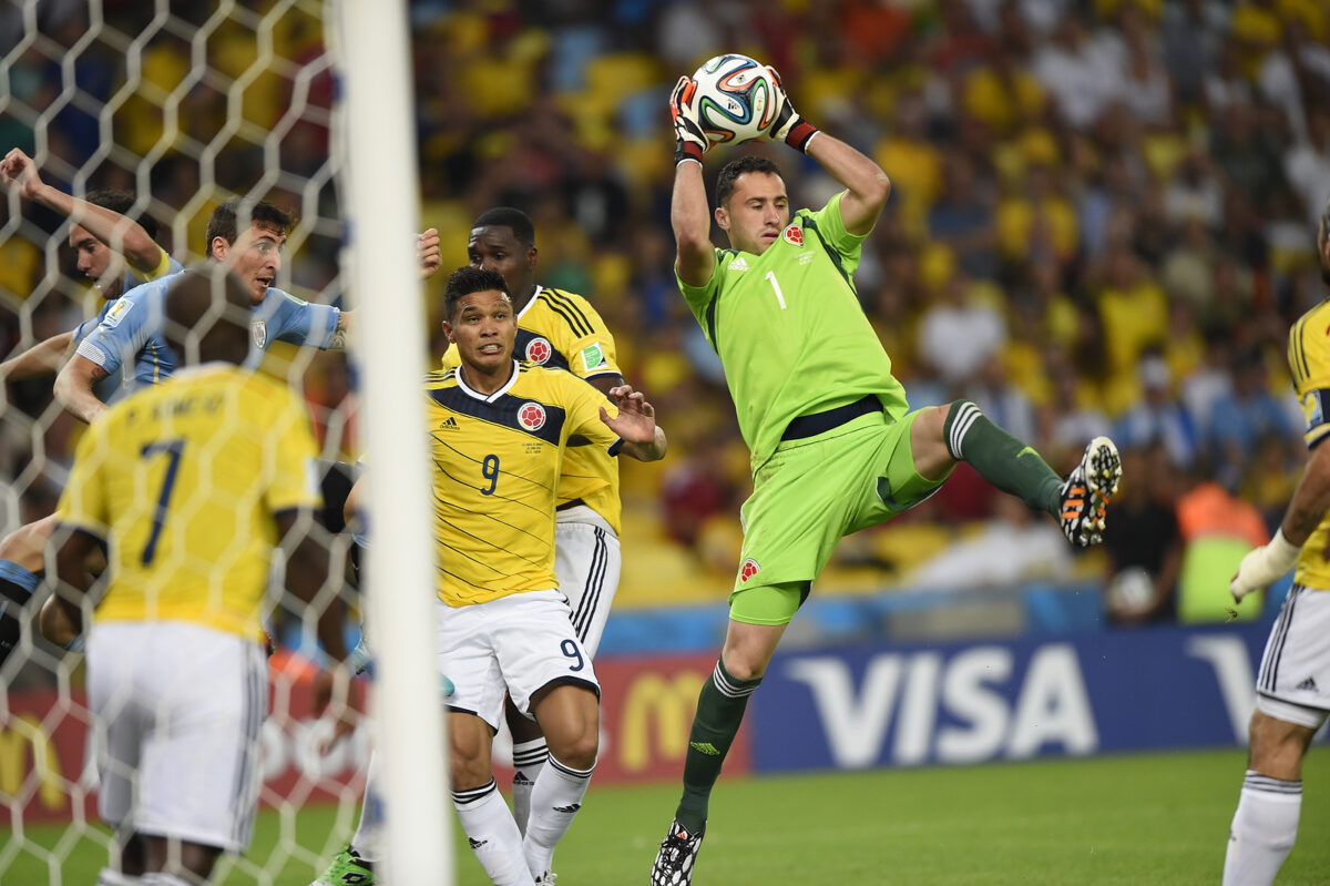 David Ospina, portiere Colombia