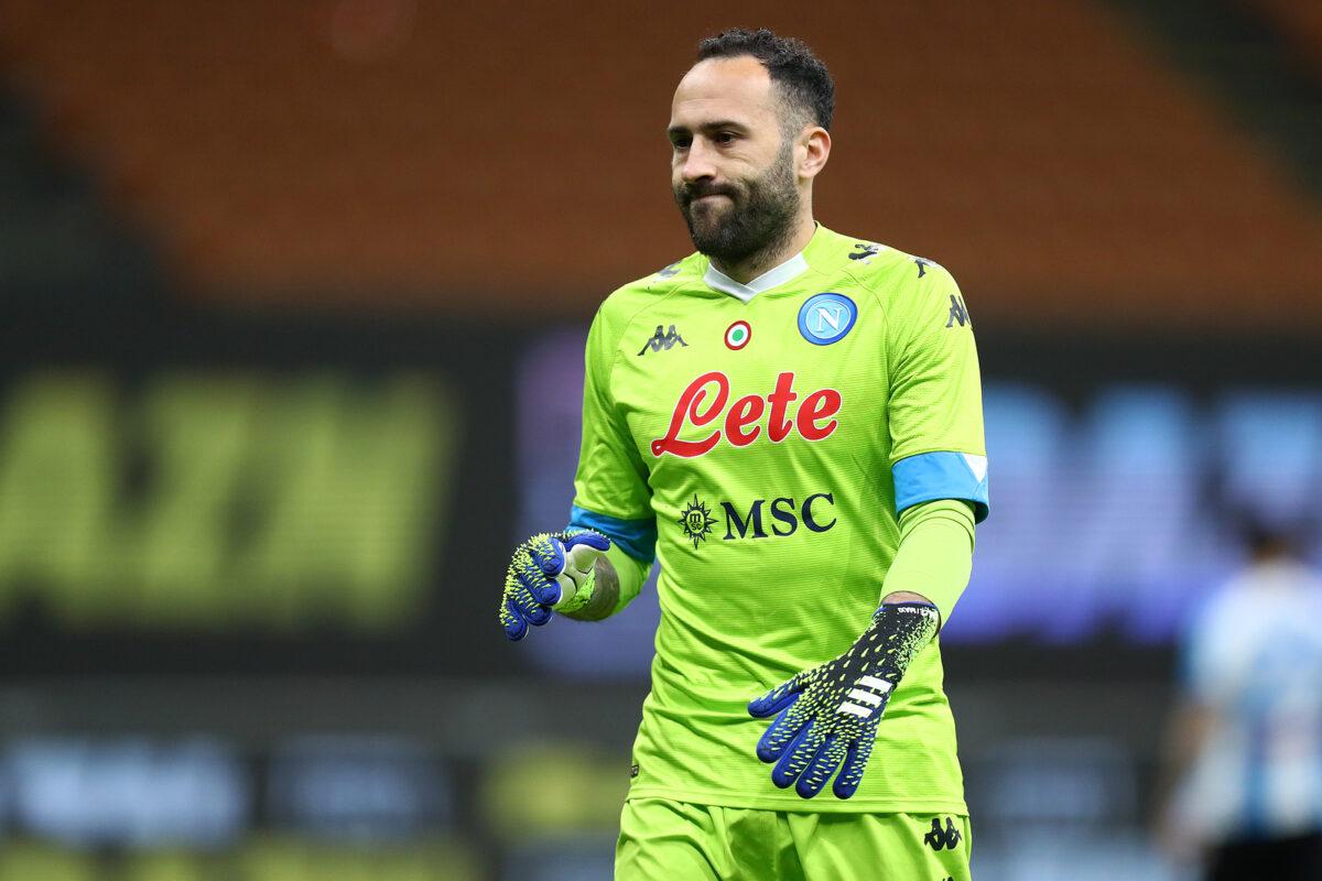 David Ospina, portiere Napoli