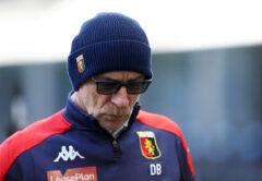 Davide Ballardini, allenatore Genoa