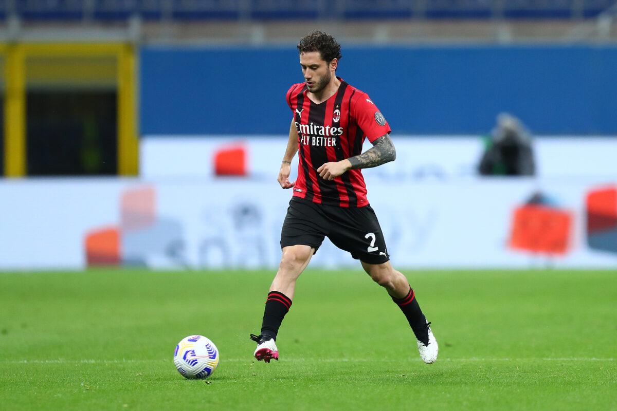 Davide Calabria, difensore Milan