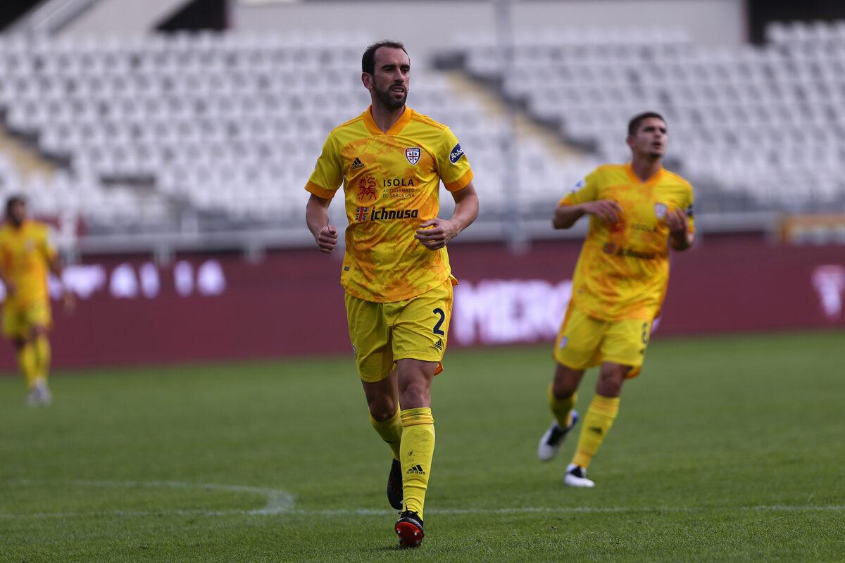 Diego Godin, difensore Cagliari