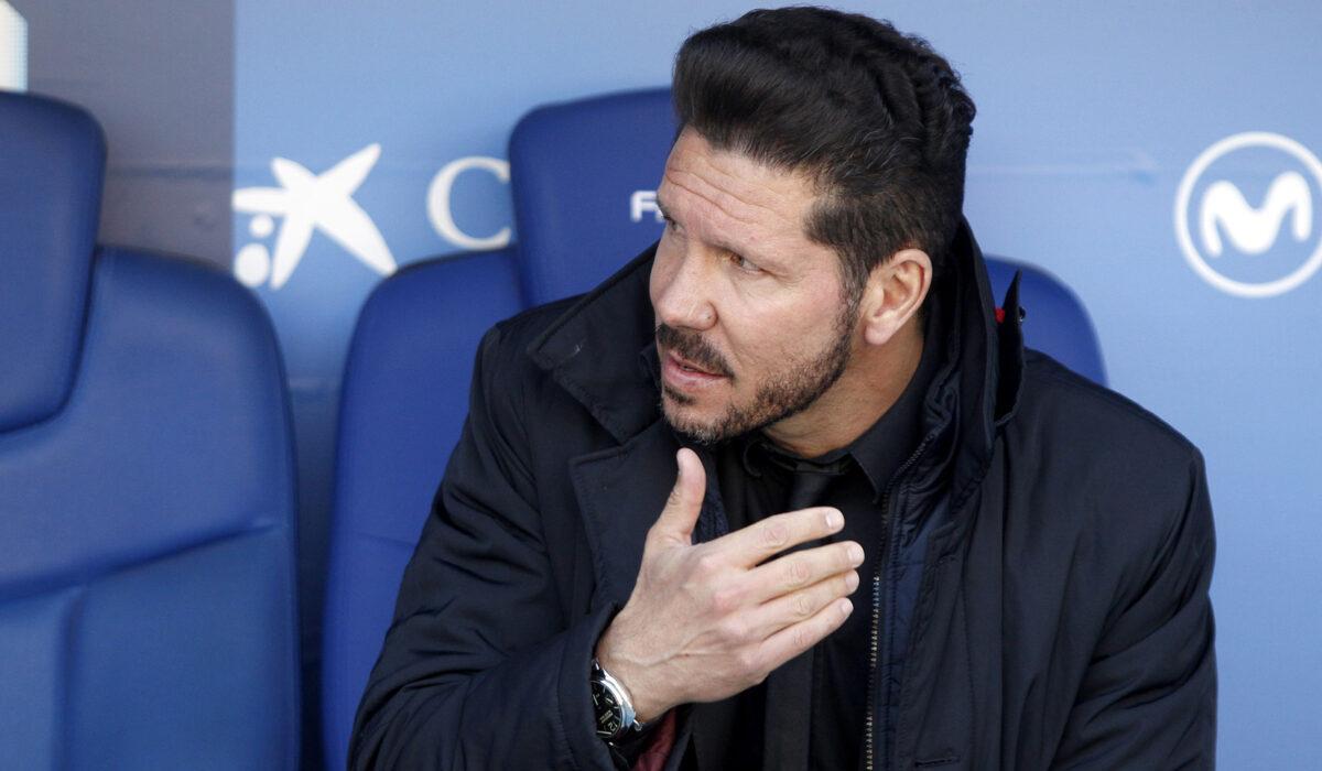 Diego Simeone, allenatore Atletico Madrid