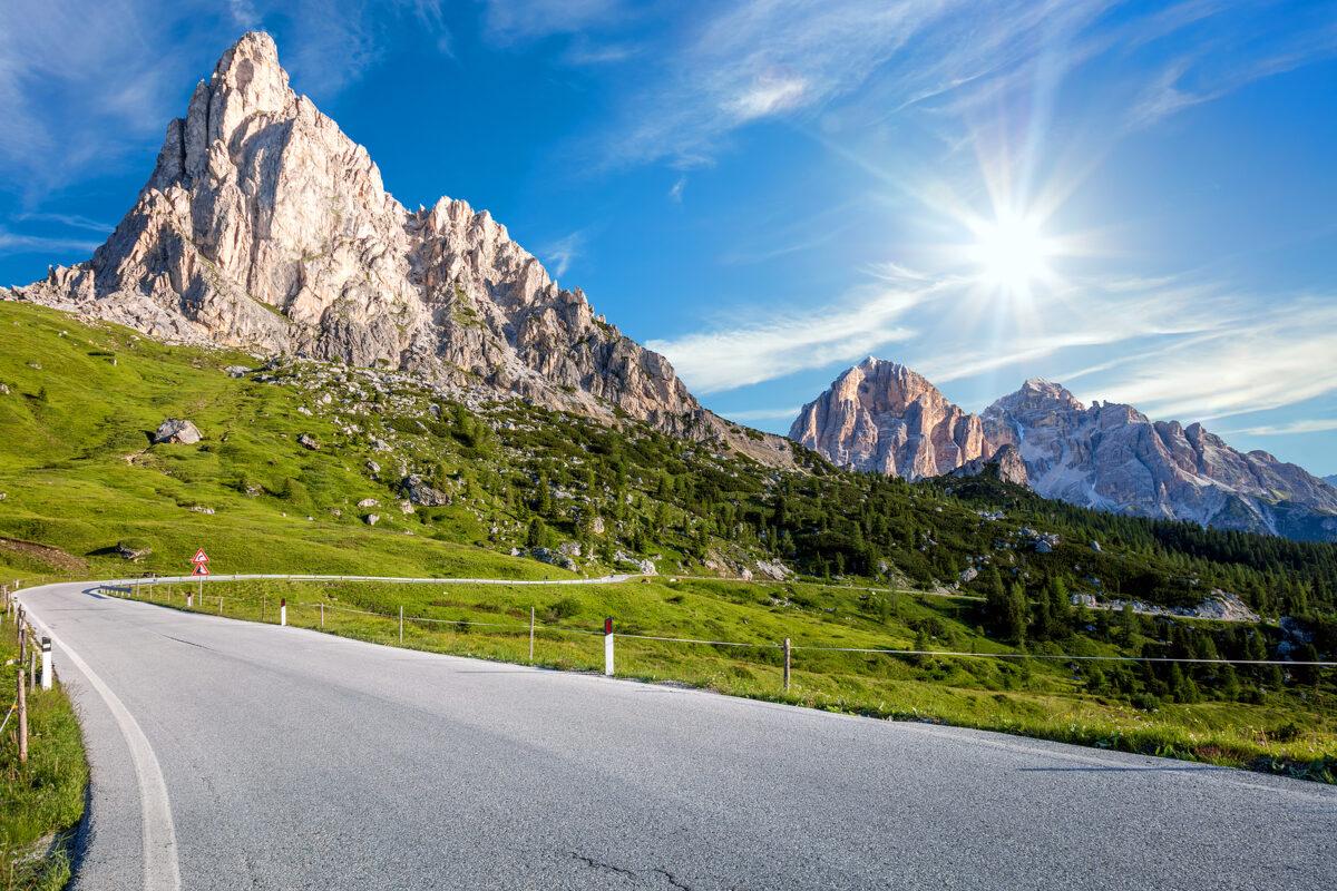Dolomiti, Giro d'Italia - Ciclismo