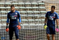 Donnarumma e Buffon, Nazionale Italiana