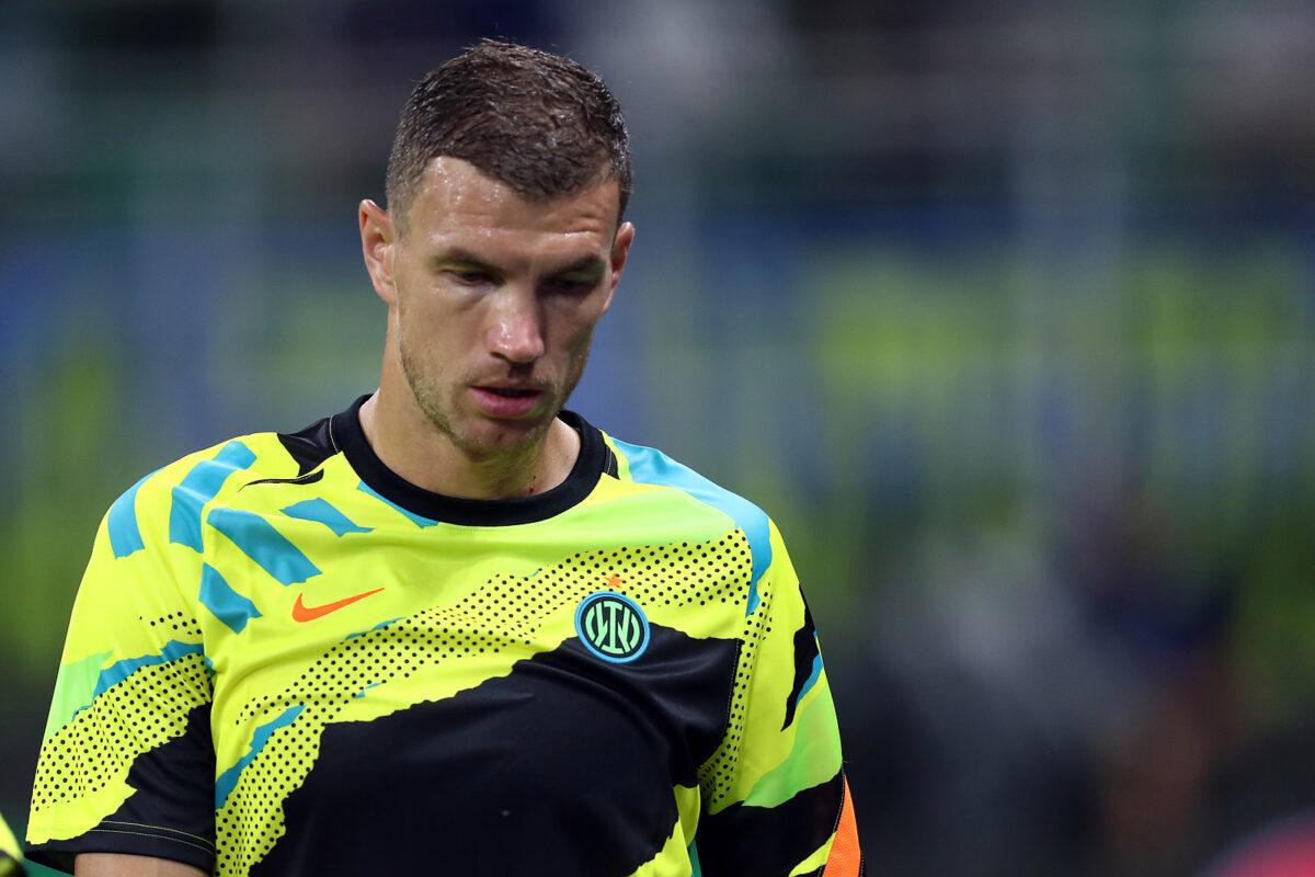 Edin Dzeko, attaccante Inter
