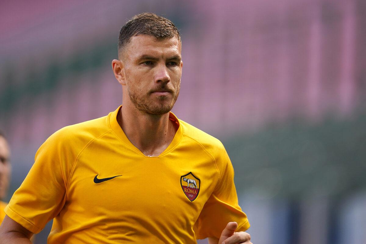 Edin Dzeko, attaccante Roma