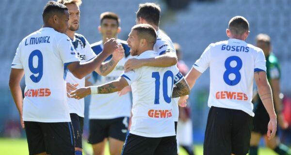 Esultanza Atalanta, Serie A