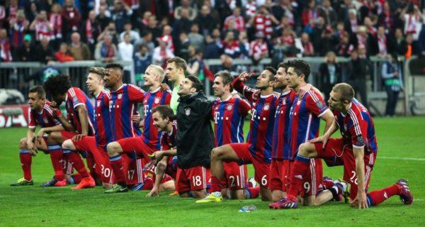 Esultanza, Bayern Monaco