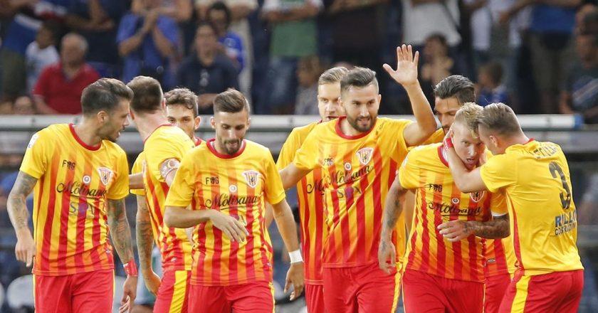 Esultanza Benevento