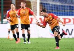 Esultanza Benevento, Serie A