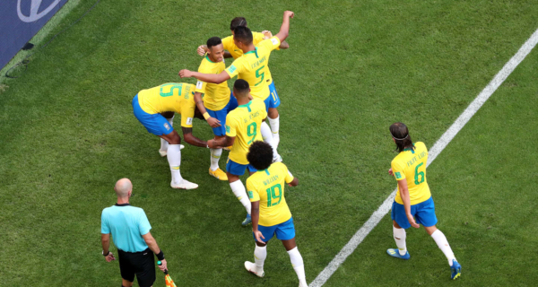 Esultanza Brasile