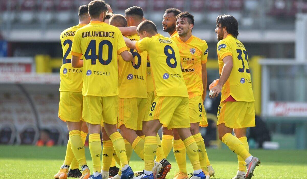Esultanza Cagliari, Serie A