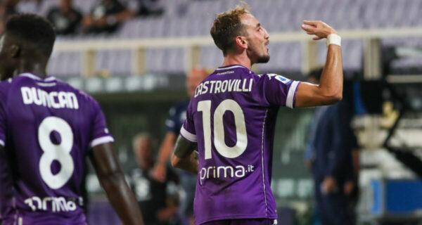 Esultanza Castrovilli, Fiorentina