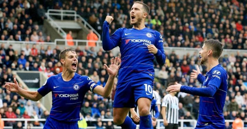 Esultanza Chelsea