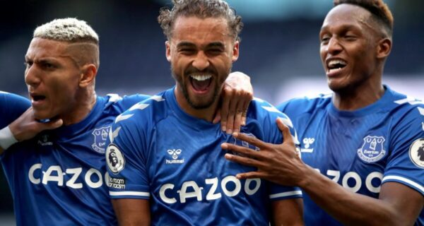 Esultanza Everton, Premier League