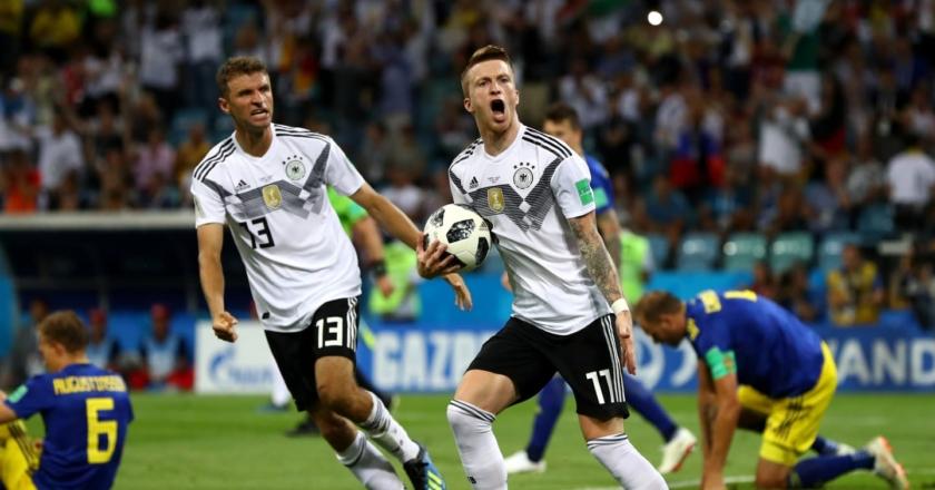 Esultanza Germania
