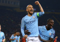 Esultanza Manchester City