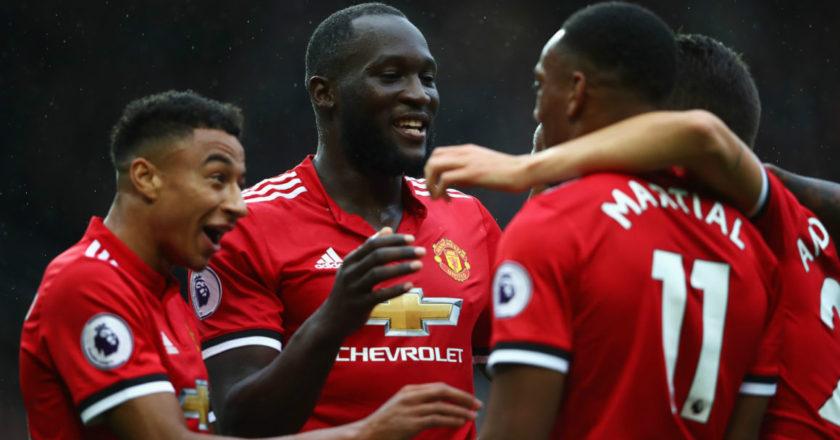 Esultanza Manchester United