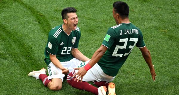 Esultanza Messico, Mondiali 2018