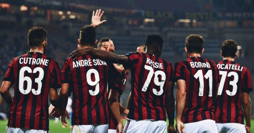 Milan: Cutrone, André Silva, Kessiè, Borini, Locatelli.