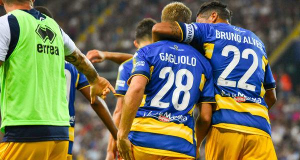 Esultanza Parma, Serie A