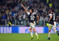 Esultanza Paulo Dybala e Miralem Pjanic, Juventus