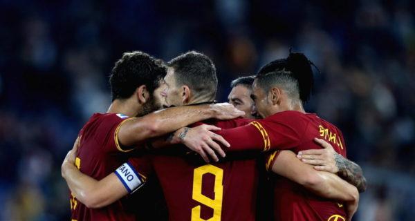 Esultanza Roma, Serie A
