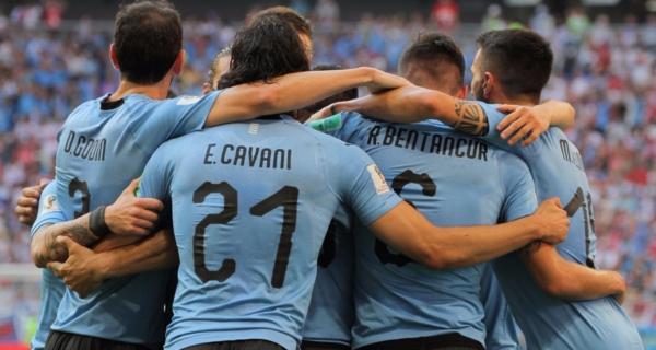 Esultanza Uruguay