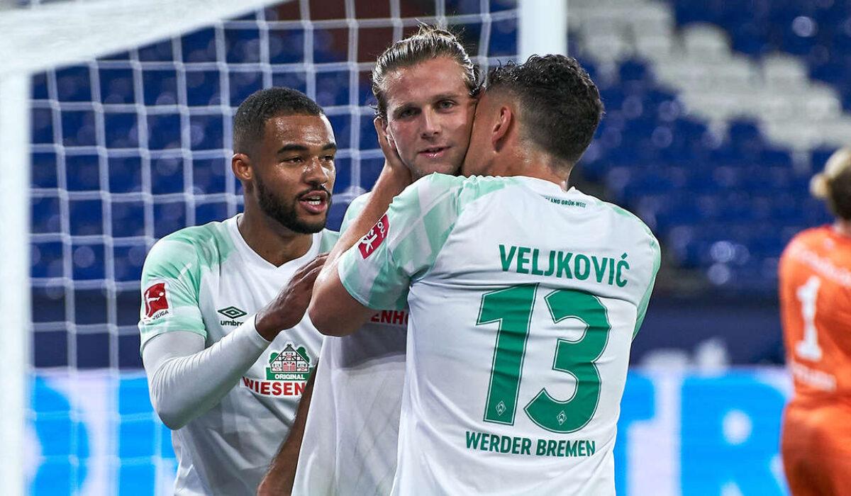 Esultanza Werder Brema, Bundesliga